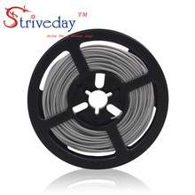 10 meters (32.8ft) 22AWG high temperature resistance Flexible silicone wire tinned copper wire RC power cord Electronic cable heating wire high temperature nickel chromium resistance wire hot plates parts 1000w high quality