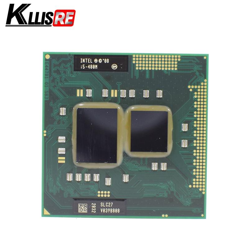 Intel Core i5 480 м 2.66 г 3 м 2.5gt/s Разъем G1 slc27 PGA 988 мобильный процессор Процессор