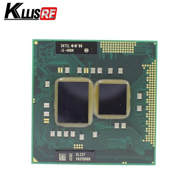 Intel Core i5 480 M 2.66G 3 M 2.5GT/S Ổ Cắm G1 SLC27 PGA 988 Bộ Vi Xử Lý CPU