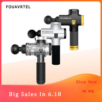 FOUAVRTEL Sales Bargains Massage Gun Electronic Muscle Relaxing Device 4 Colors Body Massager Therapy Body Massage Gun