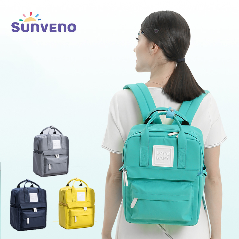 Sunveno Thermos for Baby Bottles Keep Food Warmer Feeding Mummy Bag Candy Color Childrens Insulation Thermal Bag for Milk Lunch