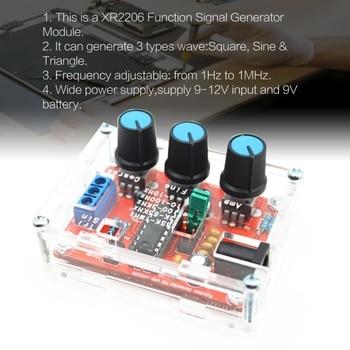 Circuito Xr2206 : Xr generador de funciones de señal triángulo sinusoidal salida