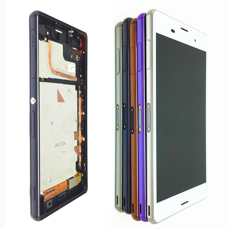 Оригинальный 5,2 ''IPS для SONY Xperia Z3 жк-дисплей сенсорный экран D6603 замена для SONY Xperia Z3 LCD Dual D6633