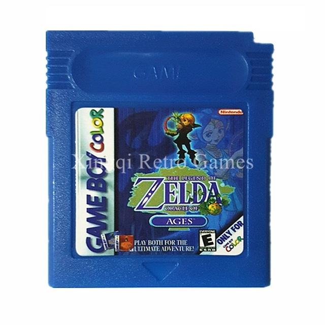 Nintendo GBC Game The Legend of Zelda Series English