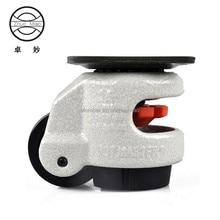 hot 4 PCS GD-40F Nylon Wheel and Pad Leveling Caster Castor