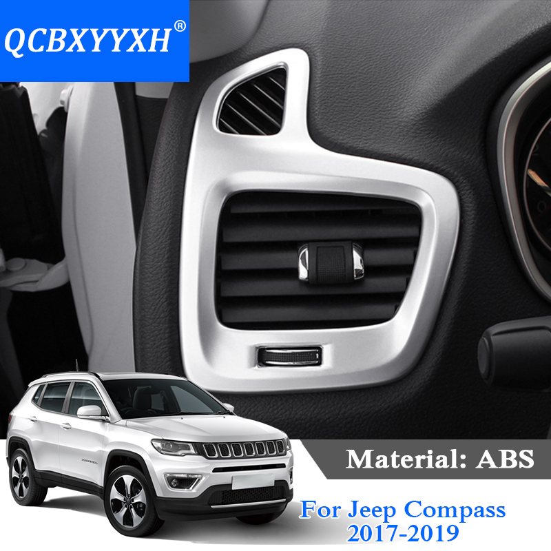 2019 Jeep Compass: QCBXYYXH ABS 2PCS For Jeep Compass 2017 2019 Car Styling