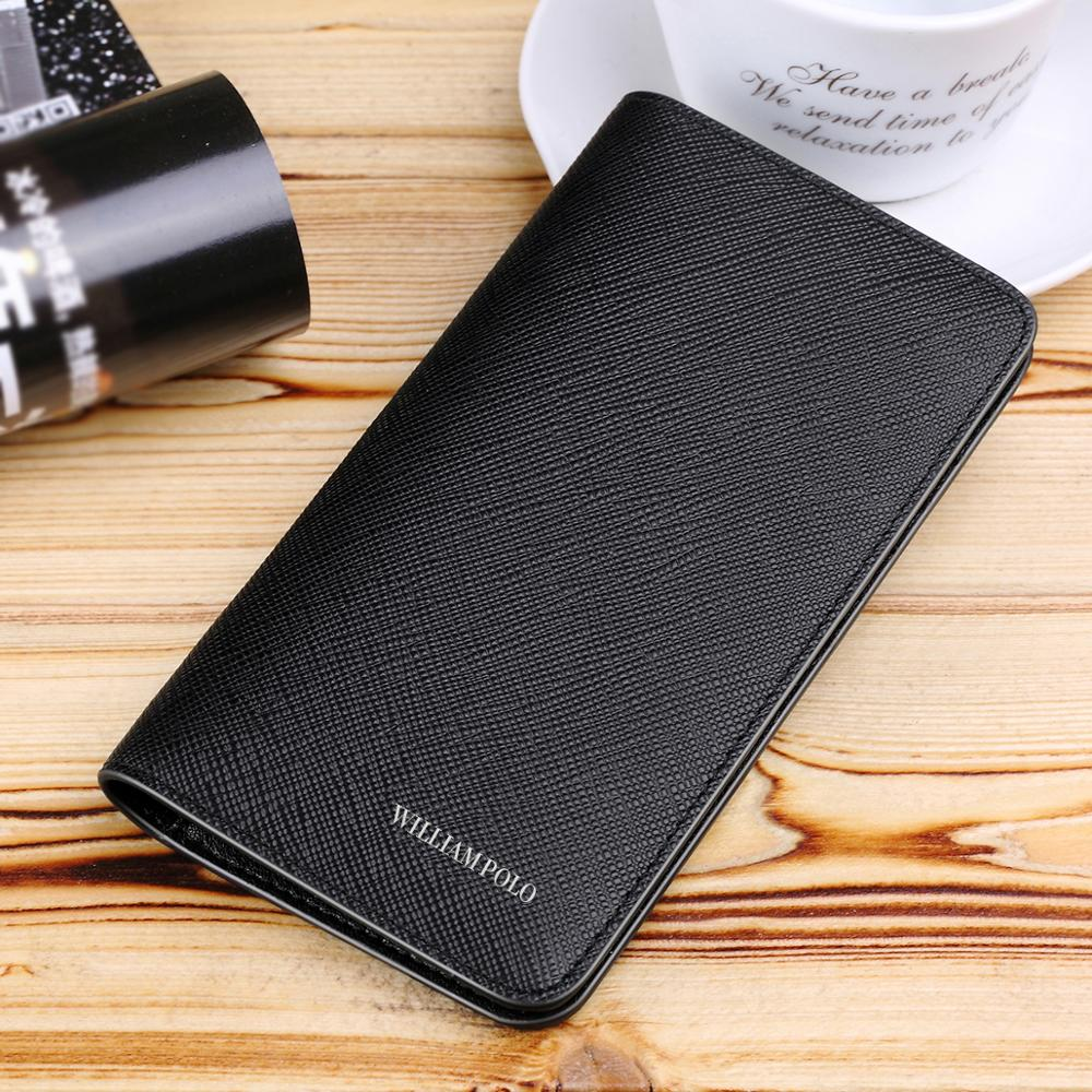WILLIAMPOLO men wallets credit card holder coin purse leather wallet genuine mini bag slim New