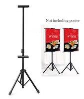 Painting Poster frame rack Poster floor stand indoor banner floor stand KT board holder advertising poster display rack