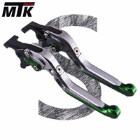 MTKRACING For SUZUKI GSXR600 GSXR750 2011 2016 Motorcycle CNC dedicated Handlebar single Folding&Extendable Brakes Clutch Levers