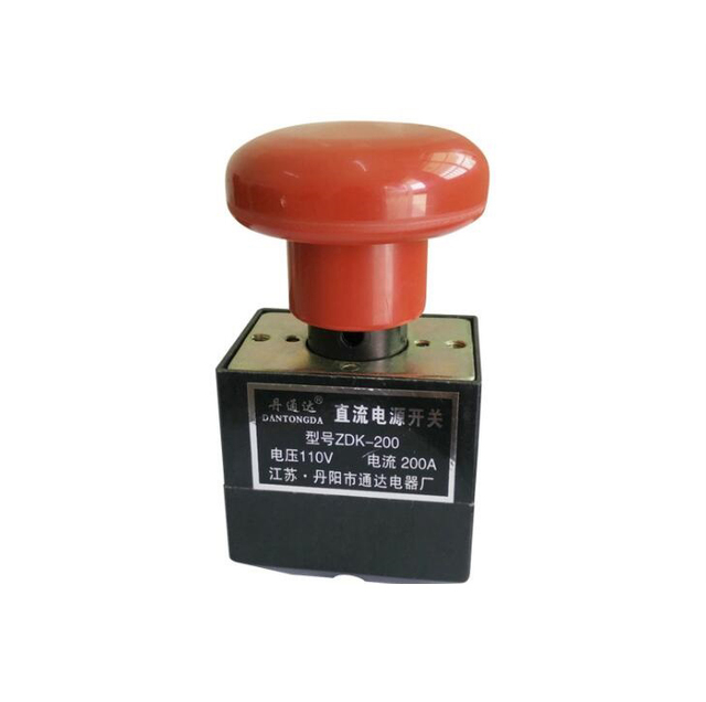 US $29 0 |110V 200A Electric Forklift Parts Direct current Power Supply  Switches Emergency Stop Switch Direction Switch ZDK 200-in Switches from