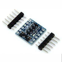 10 sztuk/partia IIC I2C konwerter poziomu dwukierunkowy moduł dla Arduino 5 V do 3.3 V