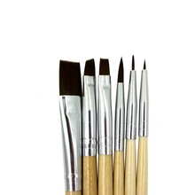 цена на IMAGIC brush Body painting paint brush painting face paint brush set make up brush tools 6pcs