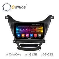 Ownice C500 Android 6 0 Octa Eight Core CAR RADIO PLAYER FOR Hyundai Avante 2012 2013