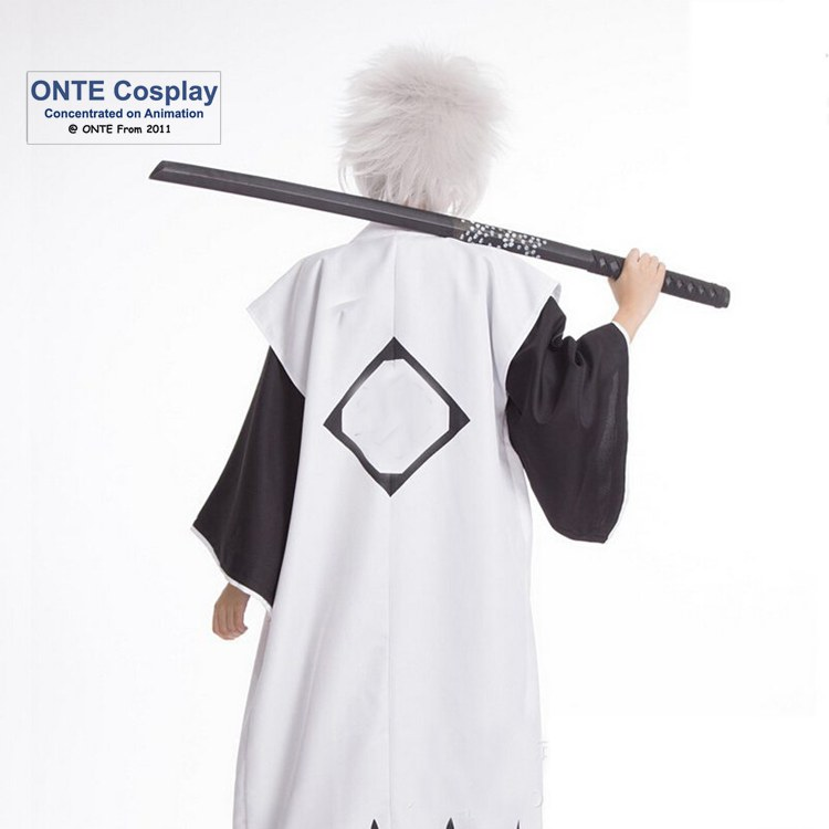 Hot Sale Japan Anime Bleach Cosplay Costumes (1st-13th) Division Captain Cloaks with Sleeveless Outfits Halloween Clothes