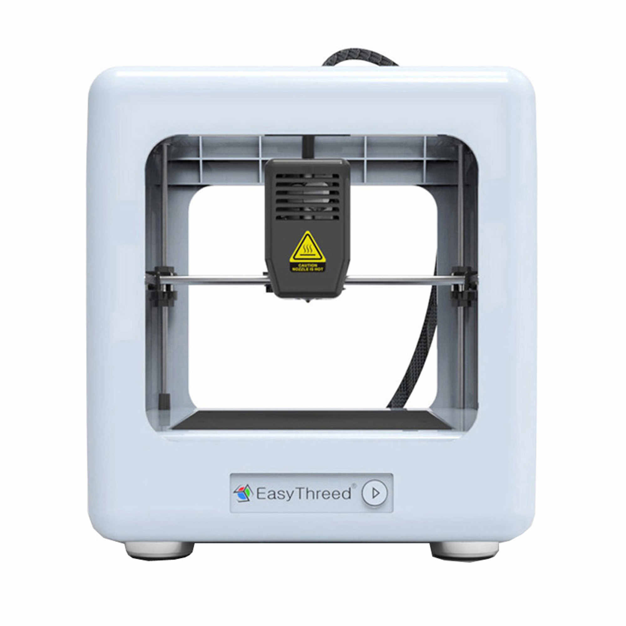 EASYTHREED Nano 3D Printer with TF Card and Detachable Magnetic Platform for Educational Use
