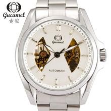 Reloj hombre 30 m impermeable de buceo reloj Mecánico reloj 2016 reloj de lujo de negocios de acero inoxidable clásico