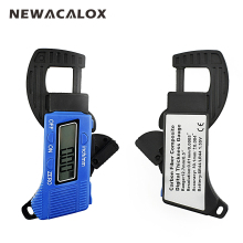 NEWACALOX Width Measuring Instruments Tool Carbon Fiber Composites Digital Thickness Caliper Micrometer Gauge 0.01mm