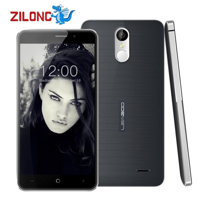 "Original Leagoo M5 Plus 5.5"" HD Android 6.0 Smartphone MT6737 Quad Core 2GB RAM 16GB ROM 13MP Fingerprint 4G LTE Mobile Phone"