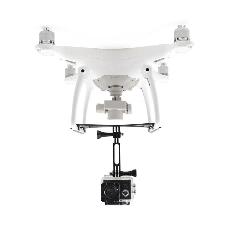 STARTRC DJI Phantom 4 4PRO 4 Avancée 4PRO + Cardan Caméra Support Étendu De Levage Support de Fixation Pour 360-Degré camera Action