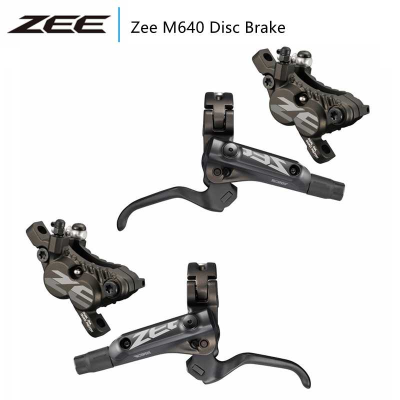 Shimano ZEE M640 Hydraulic Disc Brake Set Front /& Rear