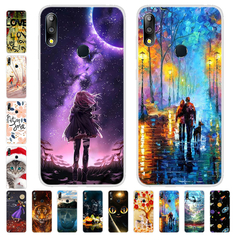 ZB631KL Soft TPU Silicone Cover For Asus Zenfone Max Pro M2 ZB631KL Case New Fashion Colorful Printing Case For Asus ZB631KL
