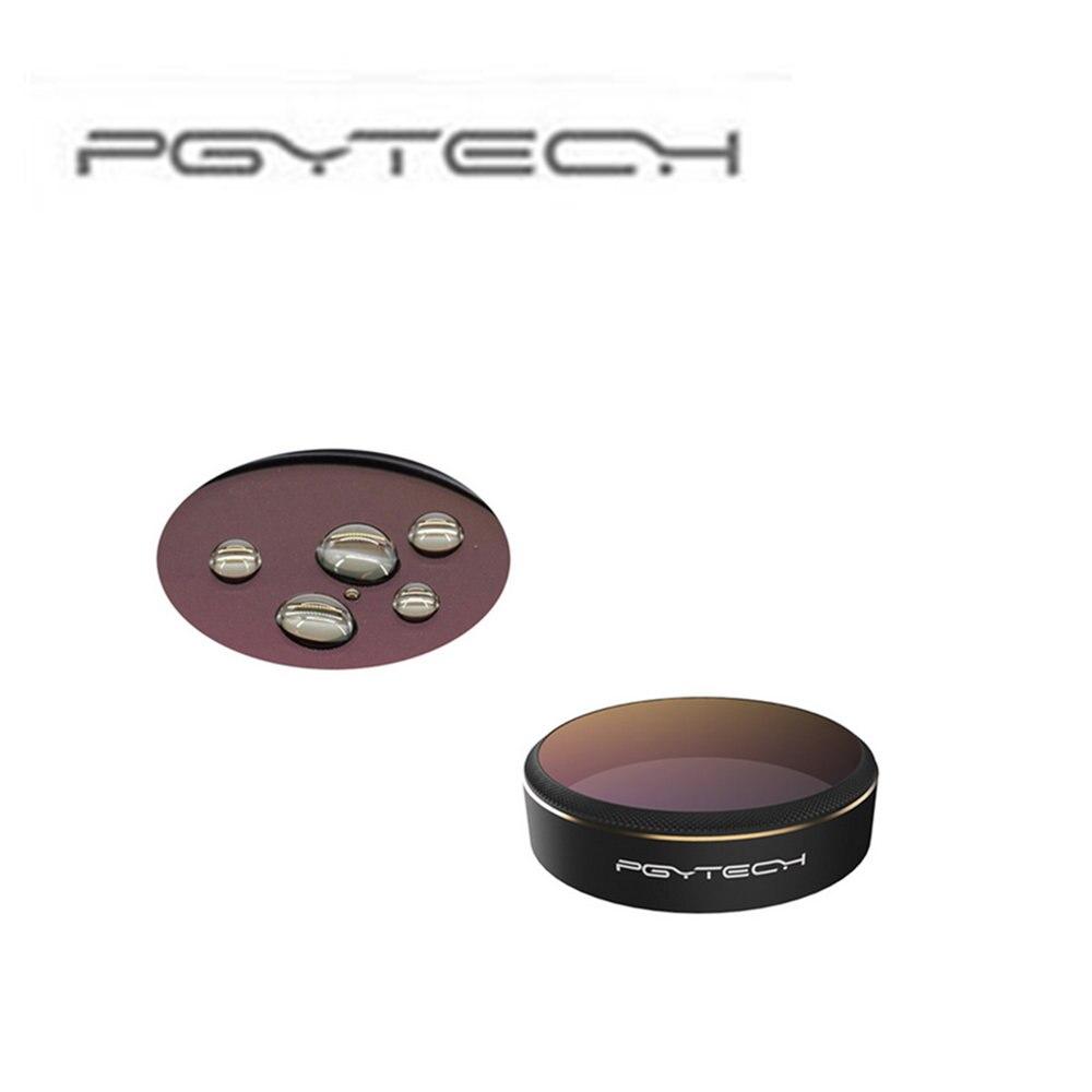 PGYTECH 4 PCS Set For DJI phantom 4 Pro Lens Filters with color (red/blue/gray/orange) gradual HD Filter Drone gimbal игрушка ecx ruckus gray blue ecx00013t1