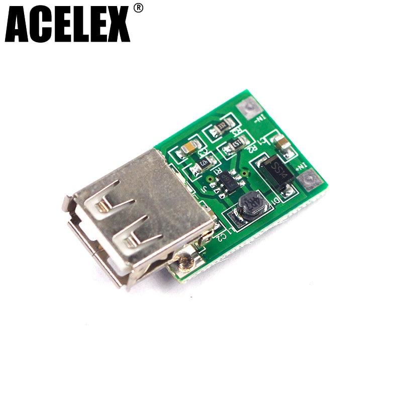 1PCS 0.9V ~ 5V to 5V 600MA USB Output charger step up Power Module Mini DC-DC Boost Converter green wholesale 1pcs dc dc step up converter boost 2a power supply module in 2v 24v to out 5v 28v adjustable regulator board dropship