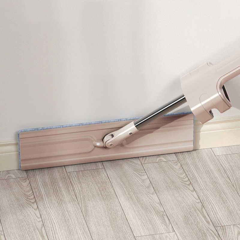 ONEUP Lavar a Mão de Limpeza Mops Livre Rotação de 360 Graus Não Becos Sem saída Pcs Microfibra Mop com 2 Substituir Pano Casa ferramenta de limpeza