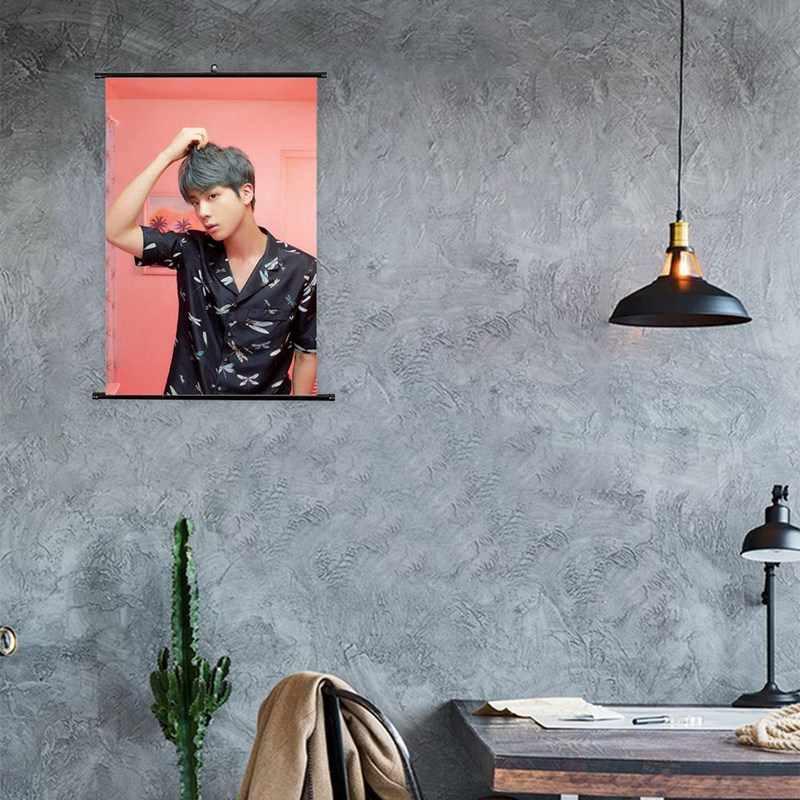 2019 новая версия BTS карта душа картины в рулонах JIN V SUGA JIMIN RM модный постер Канцелярский набор