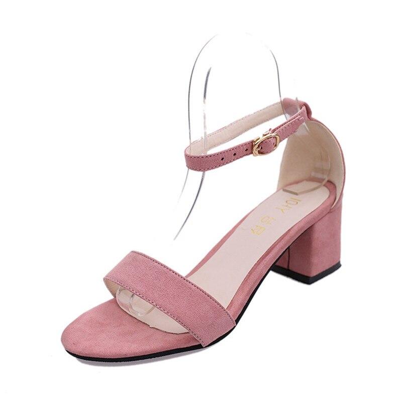 POADISFOO Summer Women Sandals Open Toe Flip Flops Women's Square heel Sandals Thick Heel Women Shoes Gladiator Shoes .HS-977