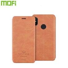 Pour Xiao mi A3 mi 9 Lite étui Mofi mi 9 SE portefeuille en cuir Vintage mi A3 Lite CC9 CC9e support de couverture rabattable rouge mi 8 8a Note 8 Pro 8T