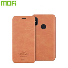 Xiao mi mi A3 mi 9 Lite Mofi kılıf mi 9 SE Vintage deri cüzdan mi A3 Lite CC9 CC9e kapak standı Flip Red mi 8 8a not 8 Pro 8T