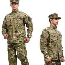 Военная Тактическая рубашка + брюки cp камуфляже multicam униформа оптовая военная армейское обмундирование для охота военная игра cs