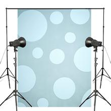 Art Printed Photography Backdrops Blue White Bubble photo Background Studio Props 5x7ft Interior wall painting wallpaper