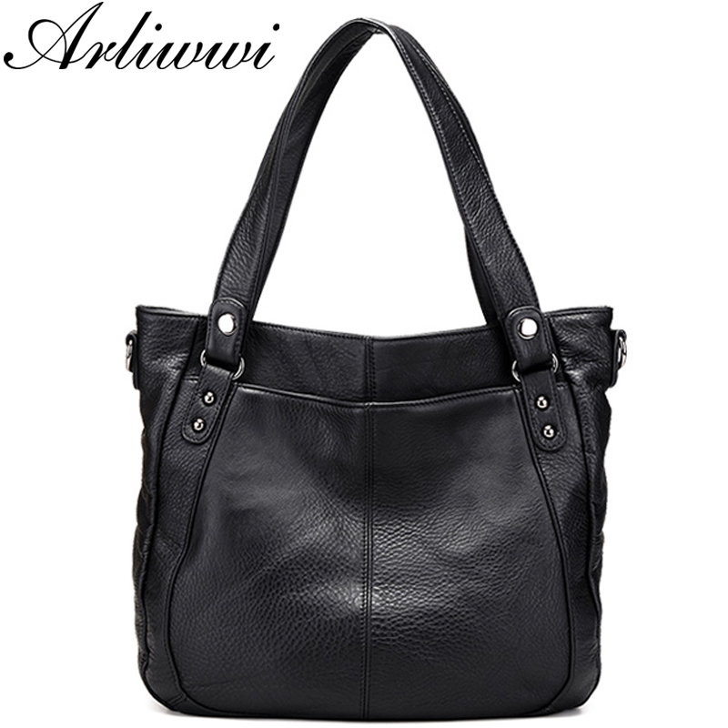 Arliwwi Brand Designer High Quality Genuine Leather Soft Women Tote Handbags Fashion Lady Large Shoulder Messenger Bag New Arliwwi Brand Designer High Quality Genuine Leather Soft Women Tote Handbags Fashion Lady Large Shoulder Messenger Bag New