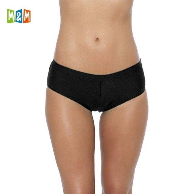 new varieties shop for shop for genuine US $7.25 45% OFF|M&M 2018 Summer Women Swim Sporty Bathing Suit Pants  Swimwear Bikini Bottom Low Waist Swimsuit Sexy Print Girls Swim Briefs  B605-in ...