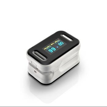 BOXYM Digital finger pulse oximeter blood oxygen Heart Rate Monitor De Dedo Oximetro CE OLED display Saturometro Monitor 2