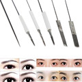GRACEFUL  10pcs Permanent Makeup Manual Eyebrow Lip Eyeliner Tattoo Microblade Needles maquiagem Tools DEC17