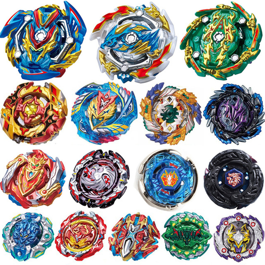 New Launchers <font><b>Beyblade</b></font> <font><b>Burst</b></font> Toys <font><b>B</b></font>-131 <font><b>B</b></font>-<font><b>133</b></font> <font><b>B</b></font>-134 <font><b>B</b></font>-135 Bayblade Toupie Metal God Spinning Top Bey Blade Blades Toy image