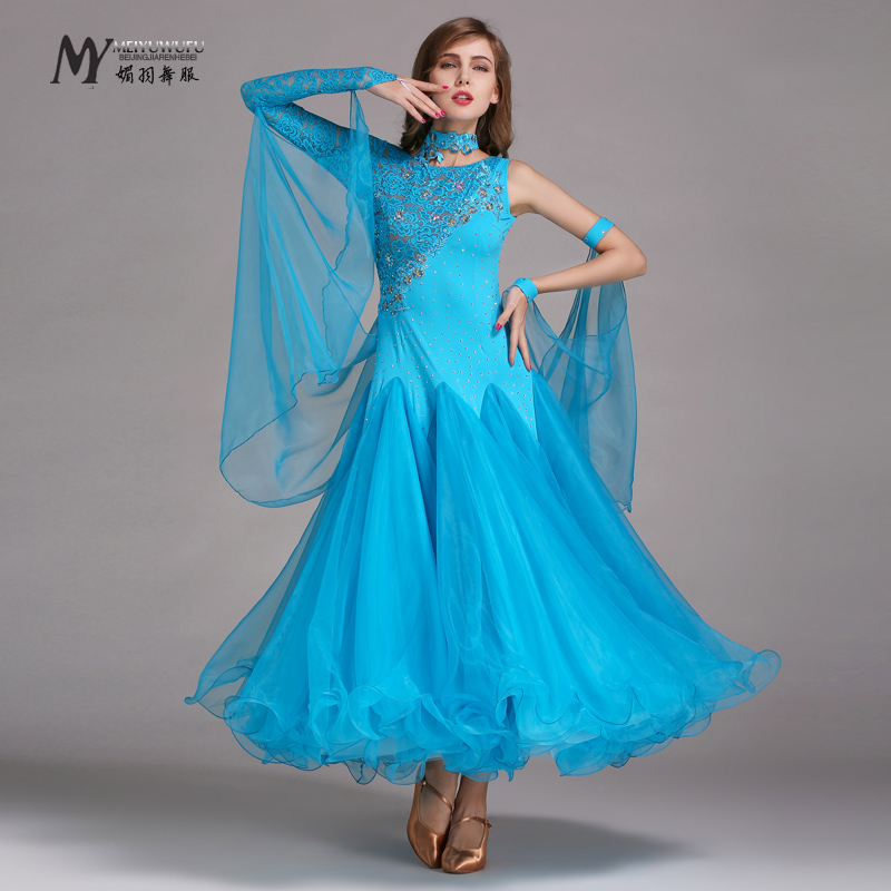 Adult new modern dance costumes modern dance skirt ballroom dance skirt dress