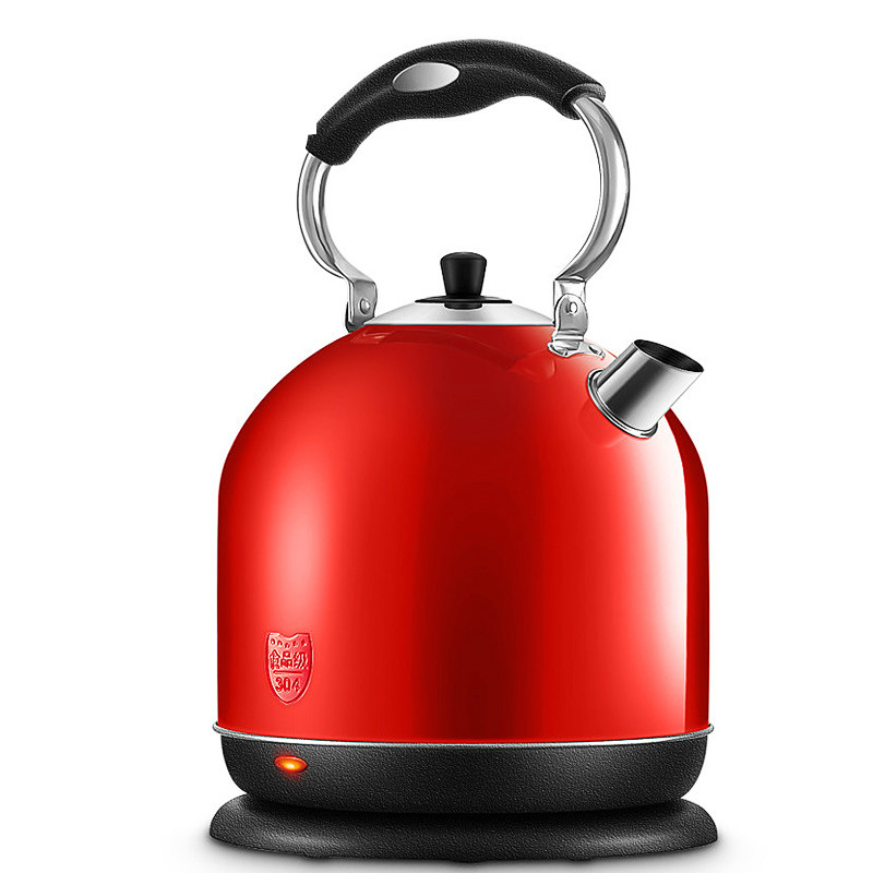 Electric kettle Household electric thermos water bottle is boiling 304 stainless steel open
