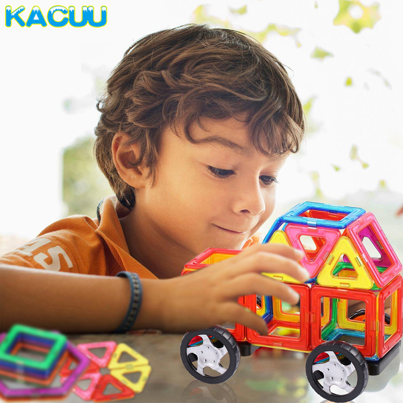 Magnetic Toy Building Set 3