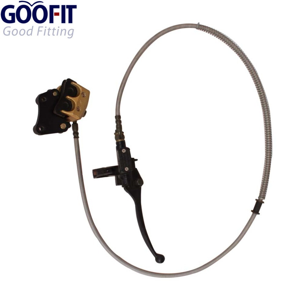 GOOFIT Front Disc Brake for 110cc-125cc Apollo Dirt Bike Scooter Moped Atv Dirt Pit Bike T40 C029-028 keoghs real adelin 260mm floating brake disc high quality for yamaha scooter cygnus modify