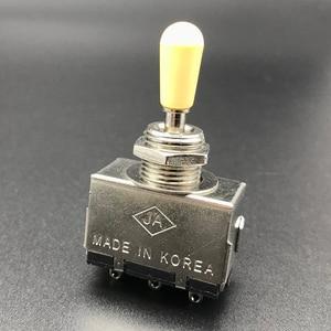 Металлический с пластиковым переключателем, 3-ходовой тумблер для электрогитары LP SG, высокое качество, 3 способа управления, Электрический гитарный переключатель