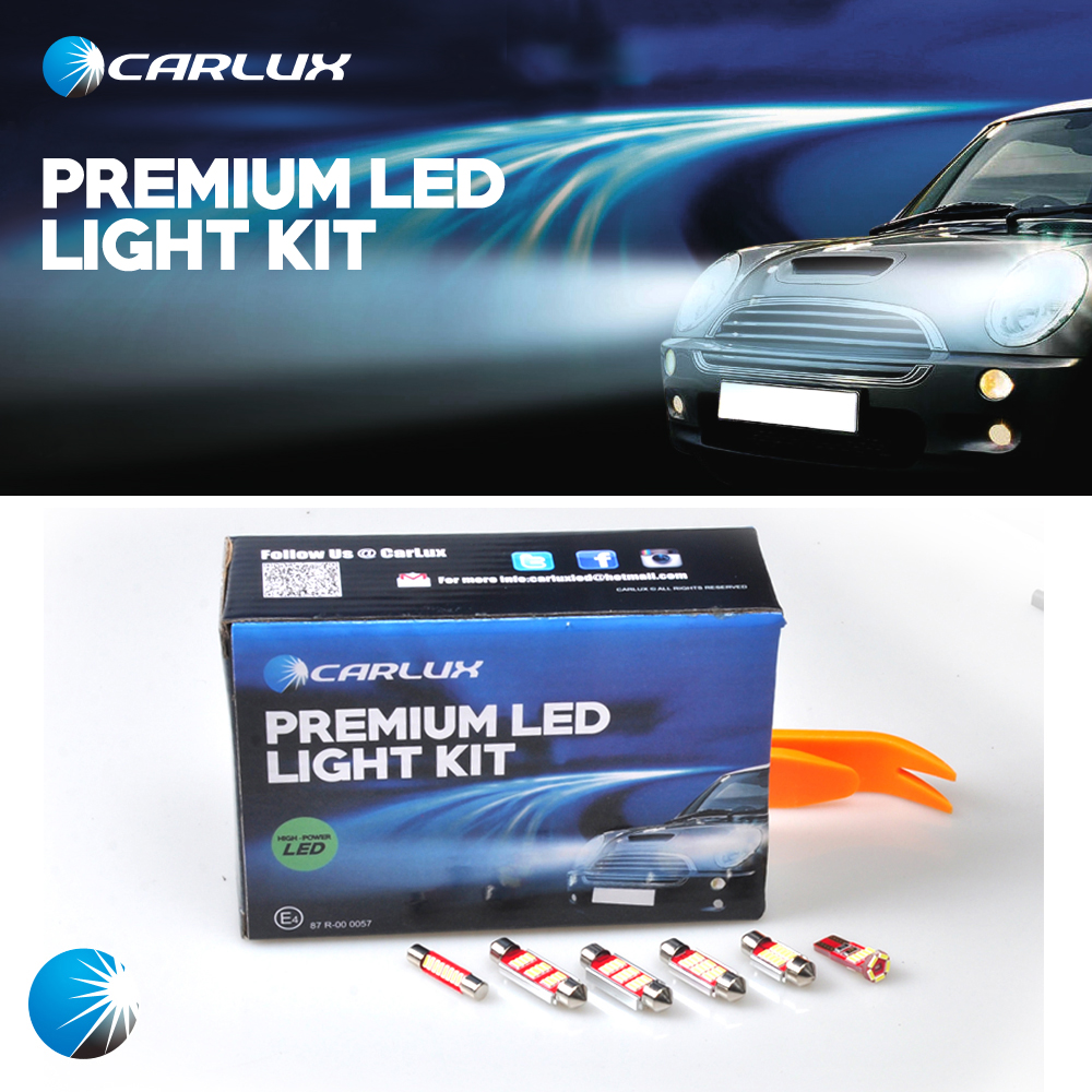 Pcs White Premium Led Dome Light Map Light Interior Light Kit Package For Lexus Ls