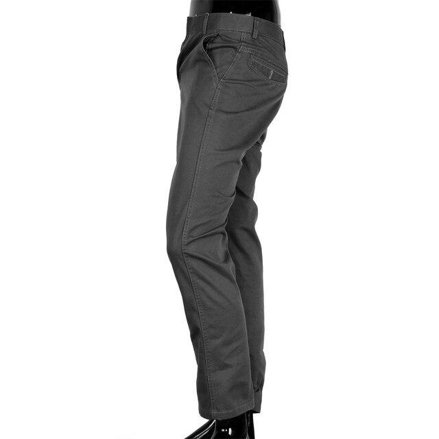 HOT Haggar Men's Cool 18 Hidden crotch jogger pants patchwork harem pants men crotch pants trousers Expandable-Waist Plain-Front