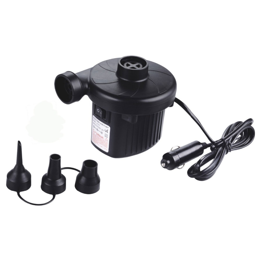 dc 12v electric air pump for air bed  mattress  inflatable