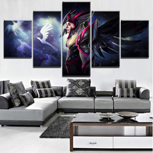 Painting Decorative Picture Home Living Room Wall Art Canvas Game DOTA 2 Printed Poster 5 Piece HD Print