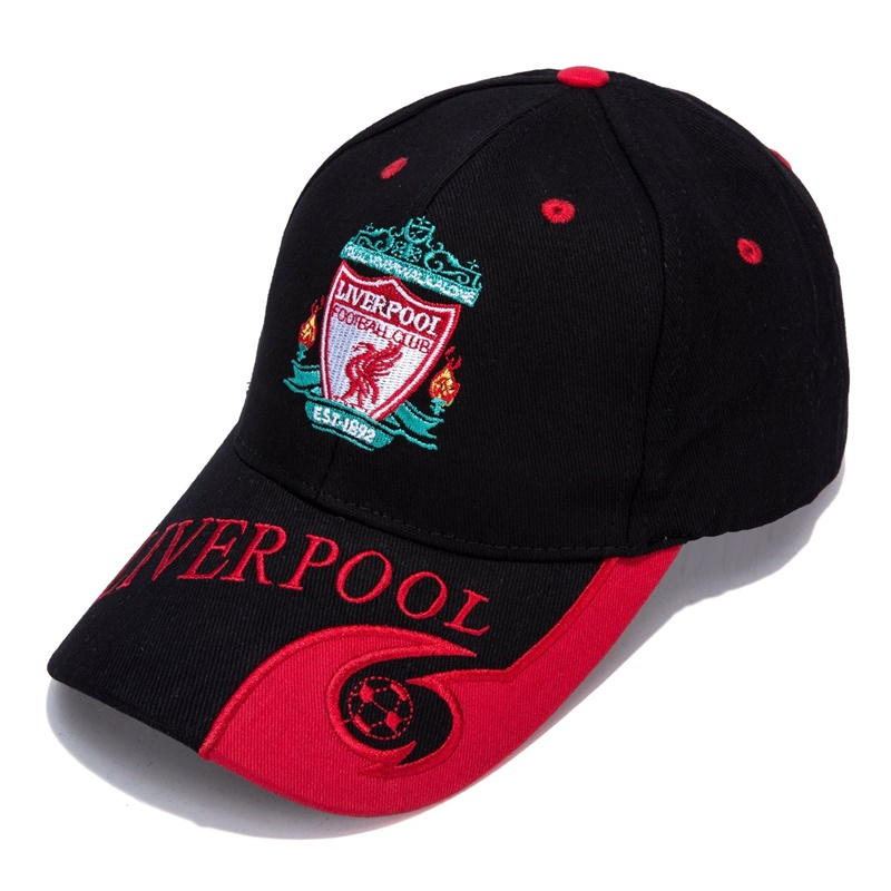 World Football/Soccer Team Embroidered Adjustable Outdooors Style Snapback   Baseball     Cap   For Liverpool New Season Color