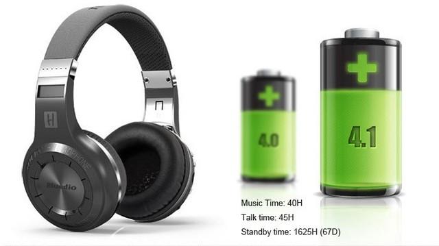 Original Bluedio H+ Bluetooth Stereo Wireless Headphones